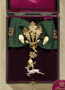 Order of the White Deer of St. Hubertus, Commander Decoration