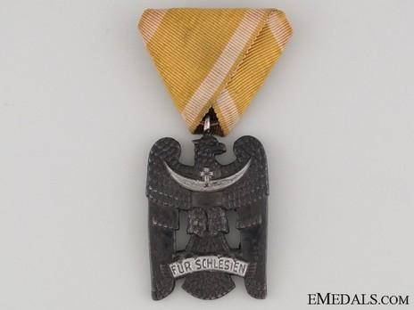 Silesian Eagle, II Class (in silvered iron) Obverse