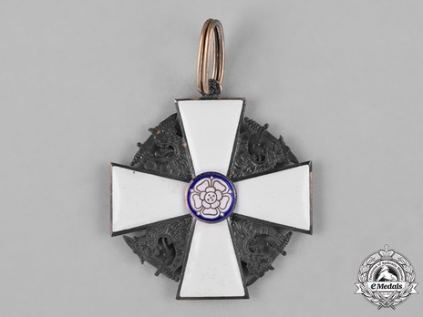 Order of the White Rose, Type II, Civil Division, I Class Commander Cross Obverse