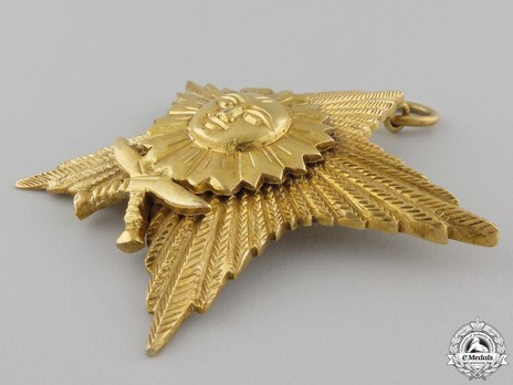 Order of the Gorkha Dakshina Bahu, I Class Obverse