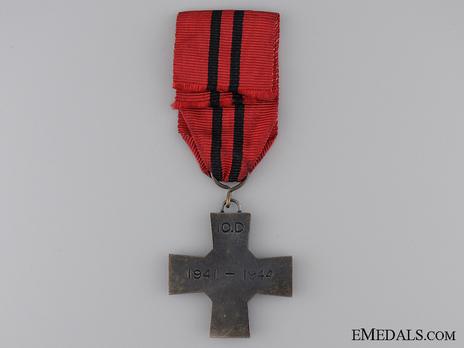 10th Division Commemorative Cross Reverse