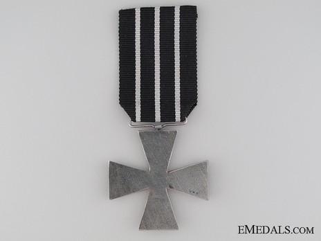 WWI Cross (1914-1918), IV Class Reverse