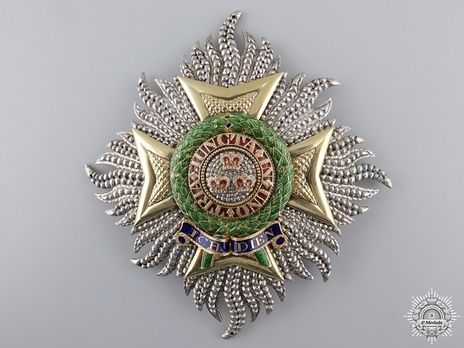 Grand Cross Breast Star (by William Gray) Obverse