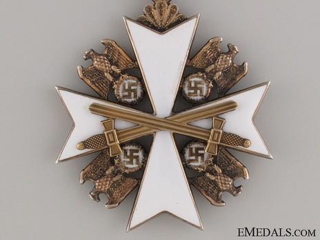 II Class Cross with Swords Obverse