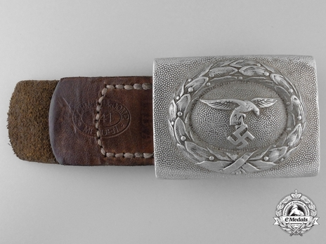 Luftwaffe 1st Model NCO/EM Ranks 1st Pattern Belt Buckle Obverse