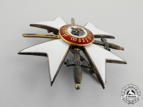 Honour Cross (with swords 1892-1918) (Silver gilt) Obverse