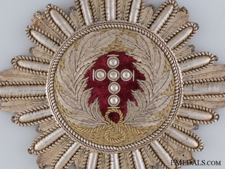 Breast Star (Embroidered) Obverse