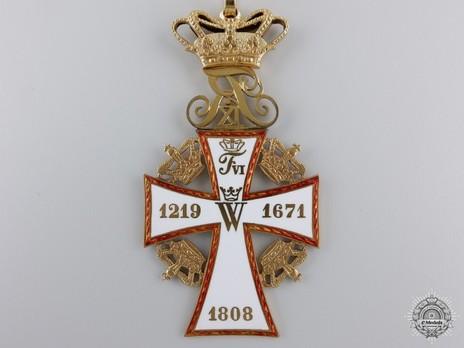 II Class Commander in Gold (Frederik IX) Reverse