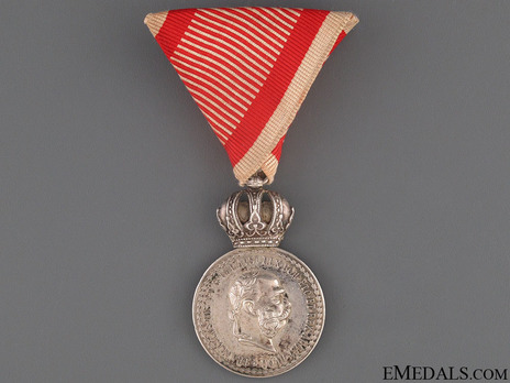 Silver Medal (with Franz Joseph)