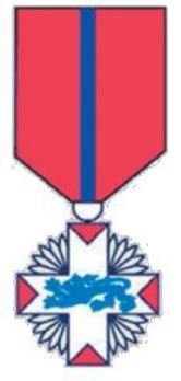 Rescue Service Cross, in Silver Obverse