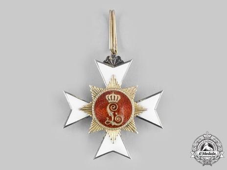 House Order of the Honour Cross, Type II, II Class Cross (in silver gilt) Reverse