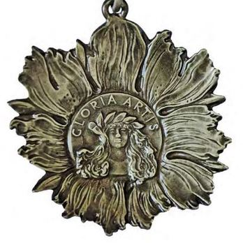 Medal for Merit to Culture, I Class Reverse