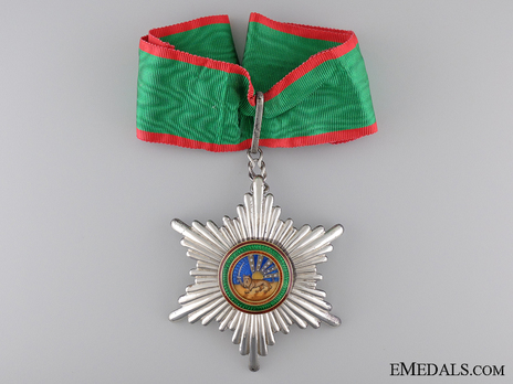 Order of Homayoun, III Class Commander Obverse