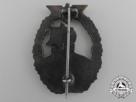 Naval Auxiliary Cruiser War Badge, by R. Souval Reverse