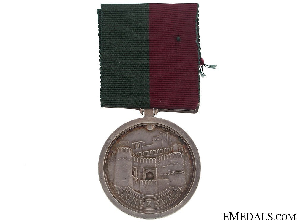 Silver medal indian army obverse