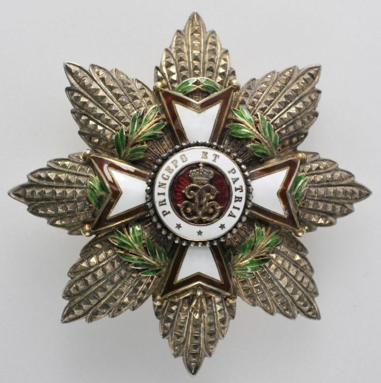 Breast star silver gilt obverse