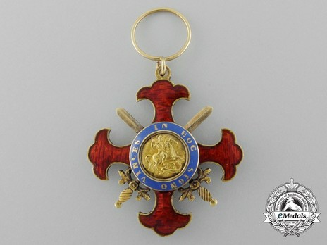 Royal Military Order of St. George of the Reunion, Knight's Cross of Grace Obverse