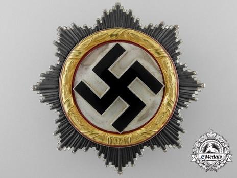 """German Cross, in Gold, by C. F. Zimmermann (""""20"""", cupal) Obverse"""
