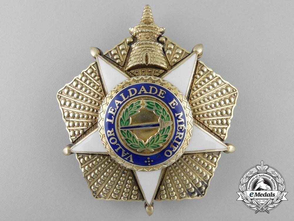 Grand cross breast star silver gilt 111