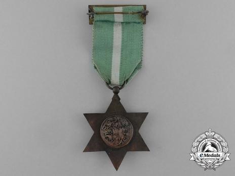 Bronze Medal (bronze, enamelled) Reverse