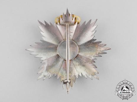 Royal Order of George I, Civil Division, Grand Cross Breast Star Reverse