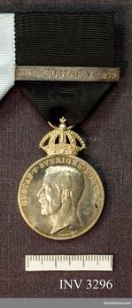 """Silver Medal (obverse stamped """"A. LINDBERG"""" rim stamped """"MJV SILVER 1951"""") Obverse"""