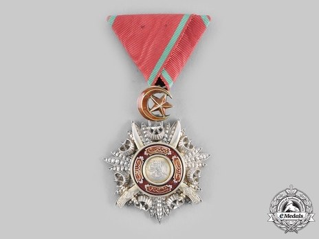 Order of Medjidjie, Military Division, V Class