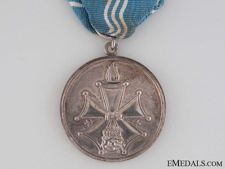 Cross of Merit of the Finnish Olympic Games, Silver Medal Reverse