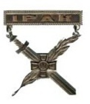Warrior-Peacemaker Badge (Iraq) Obverse