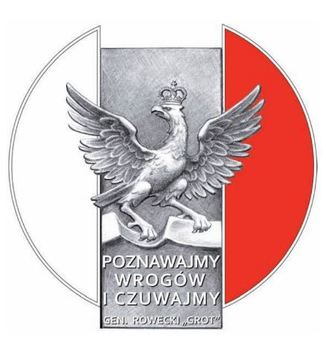 """Decoration of Honour in the Name of Stefan Roweckiego """"Grotto"""" Obverse"""