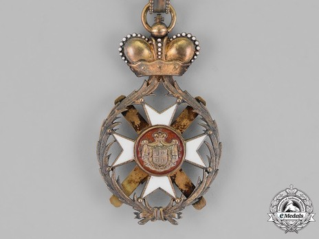Order of the Cross of Takovo, Civil Division, I Class Reverse