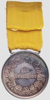 Silver Medal (1869-1881) Reverse