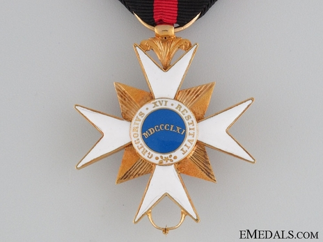 Order of the Golden Militia, Type II, Knight Reverse