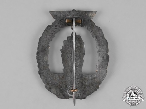 Minesweeper War Badge, by R. Souval Reverse