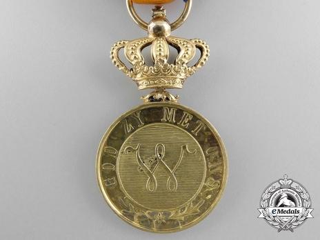 Order of Orange-Nassau, Civil Division, Gold Medal