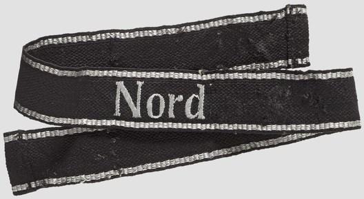 """Allgemeine SS District """"Nord"""" Cuff Title Obverse"""