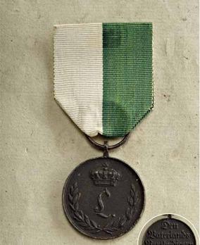 War Medal, 1813-1815 (Anhalt-Köthen) (1813/1814)