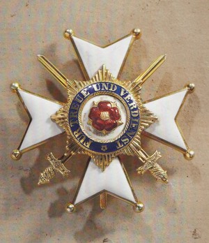 Type II, Officers' Cross with Swords