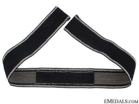 Waffen-SS Der Führer Officer's Cuff Title Reverse