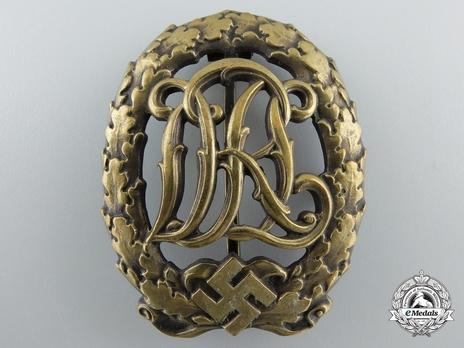 DRL Sports Badge, in Bronze Obverse