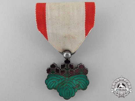 Order of the Rising Sun, VII Class Obverse