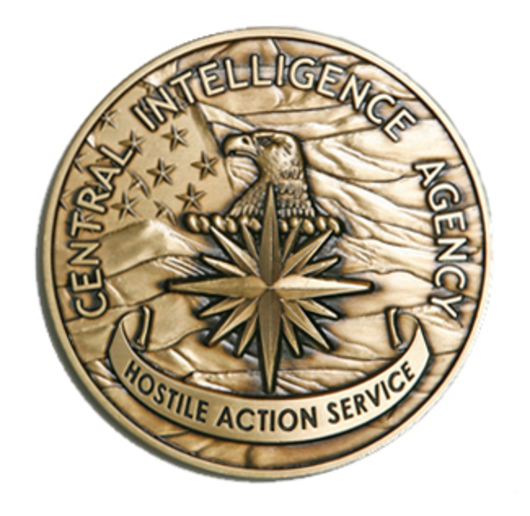 Hostile action service medal of the cia