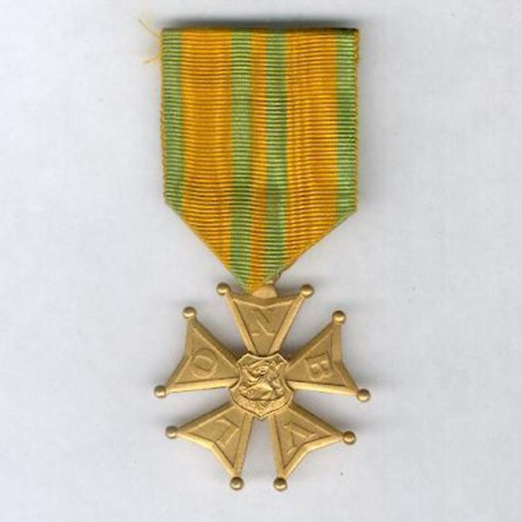 Bronze cross 1909 1958 obverse 1