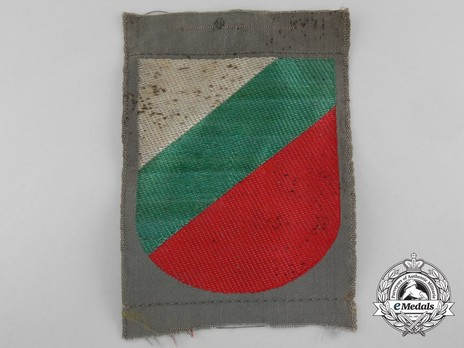 German Army Bulgaria Sleeve Insignia Obverse