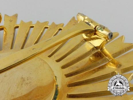 Royal Order of Sahametrei, Grand Cross Breast Star Reverse Detail