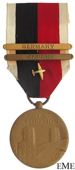 "Bronze Medal (with ""GERMANY"" and ""JAPAN"" clasps) (with Berlin Airlift Device) Obverse"