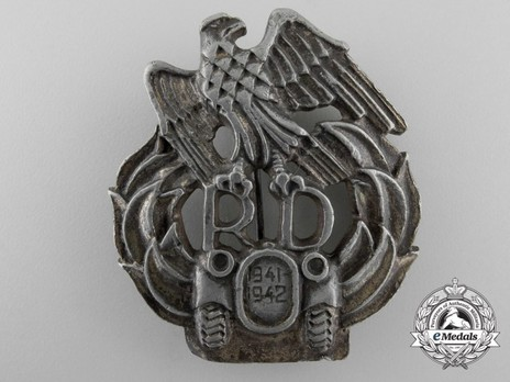 Commemorative Badge of the Mobile Division (41 42) Obverse