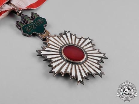 Order of the Rising Sun, III Class Reverse