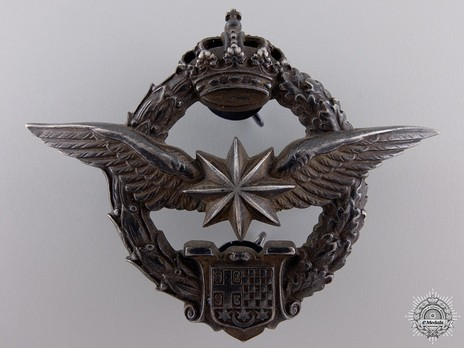 WWII Army Air Service Observers and Navigation Badge Obverse