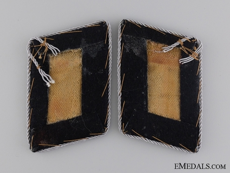 Luftwaffe Reich Air Ministry/Engineers Hauptmann Collar Tabs Reverse